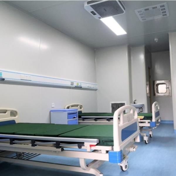 医用制氧供气系统联帮医疗驰援雅安市名山区人民医院负压隔离病房建设