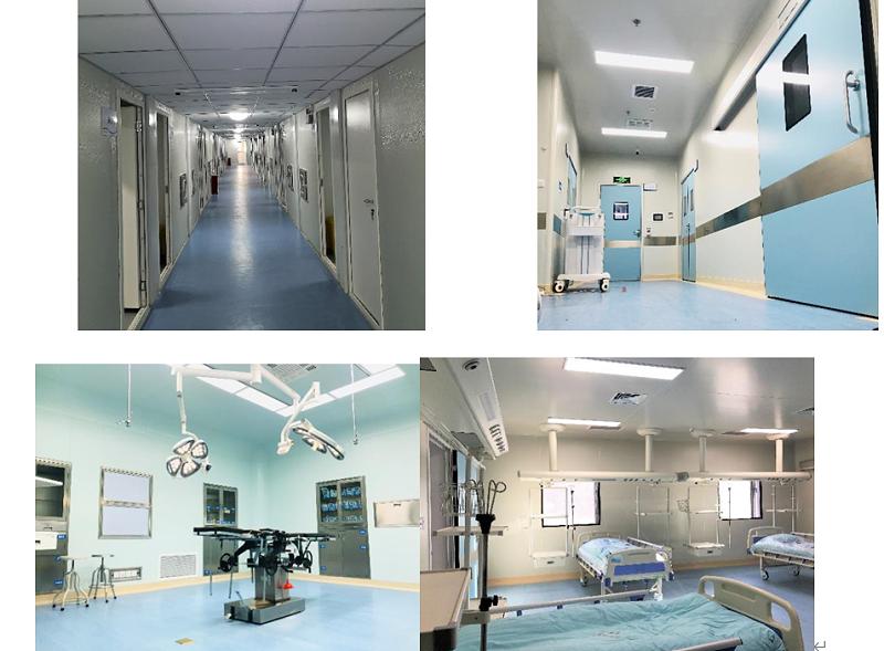 负压隔离病房现场照片