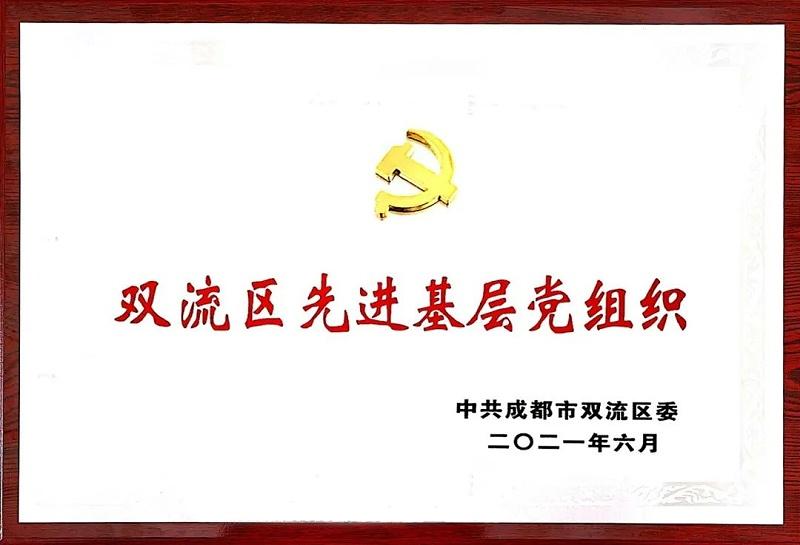 """成都联帮荣获""""双流区先进基层党组织"""""""